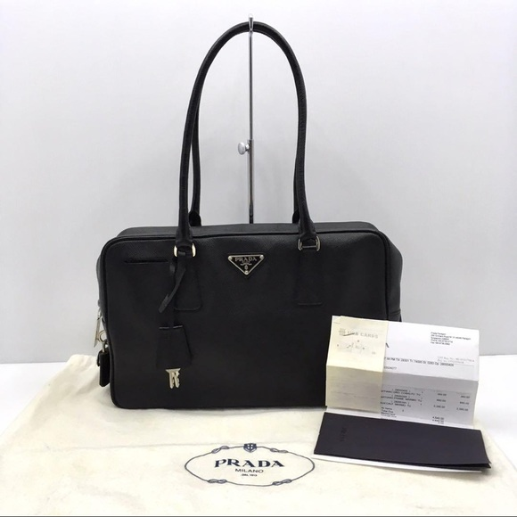 Prada Handbags - Prada Saffiano Shoulder Bag